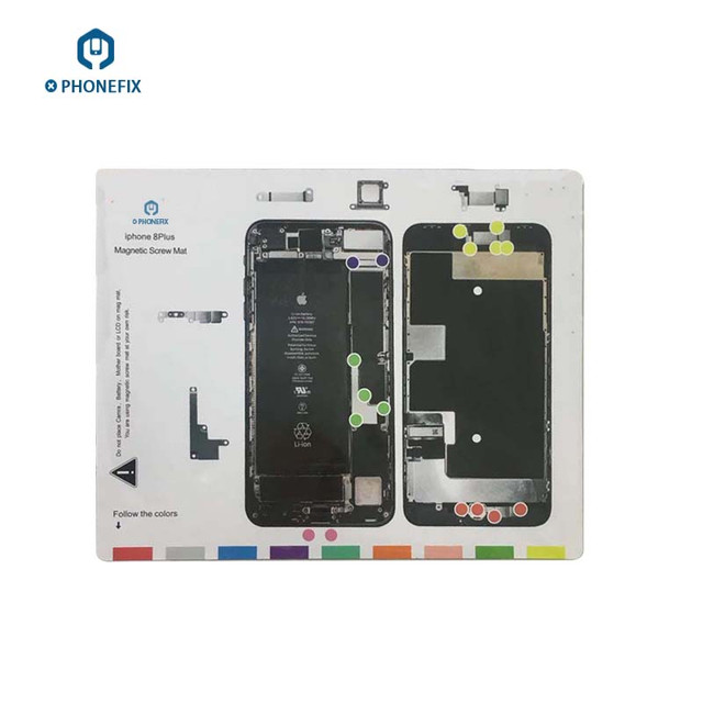Magnetic Screw Mat For Iphone X8 7 6s 6 5s 5 Teardown