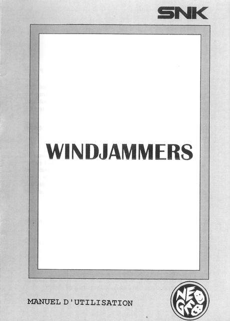 [Scan] Notices, flyers, artsets... NGCD - AES - MVS Flying Power Disc / Windjammers[Scan] Notices, flyers, artsets... NGCD - AES - MVS - PS4 - PSVita - Switch Flying Power Disc / Windjammers Notice_windjammers_fr_01
