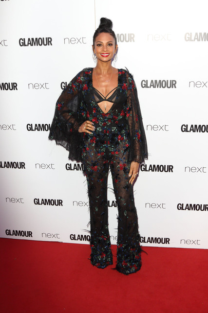 London UK Alesha Dixon at Glamour Women Of The Year Awards at Berkeley Square Gardens London on June