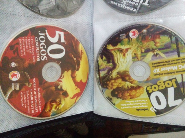Golden And Red RPGDisc