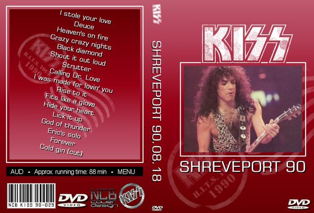 KISS - 1990-08-18 ~ Shreveport, LA partial Edition - Guitars101