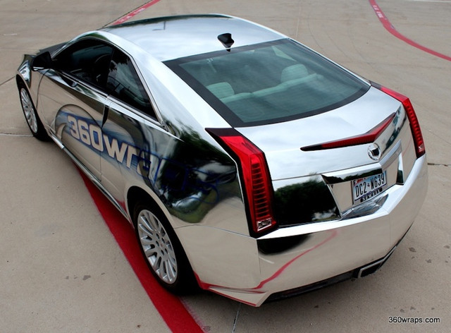 Used Cadillac Cts Coupe >> Vinyl Wrap?