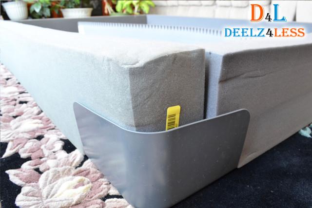 select comfort sleep number e king size side wall rails base pad bed top foam ebay. Black Bedroom Furniture Sets. Home Design Ideas