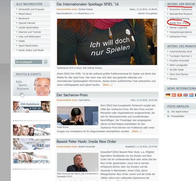 European News Agency