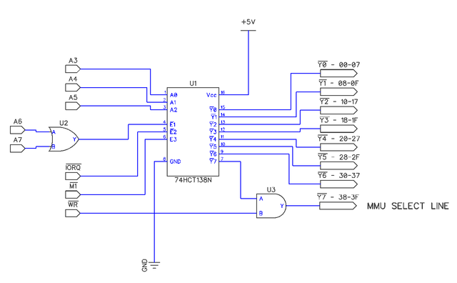 Z80 memory banking for 128K - MMU design - Page 3