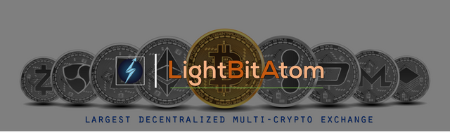 (Airdrop/Bounty) LightBitAtom – The Real Decentralized Multi-Crypto Exchange!