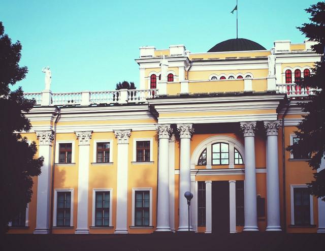 дворец Румянцевых Гомель