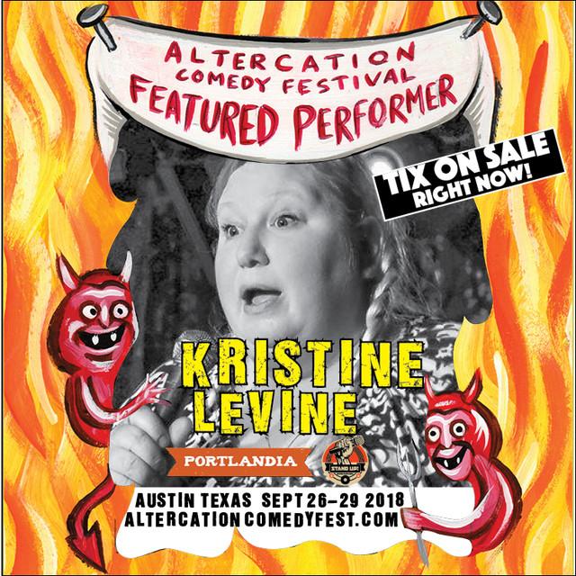 KRISTINE LVINE HEADLINE