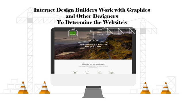 Internet Design Builders Work with Graphics and Other Designers to Determine the Website's