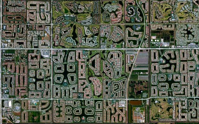 Residential development Boynton Beach Florida USA