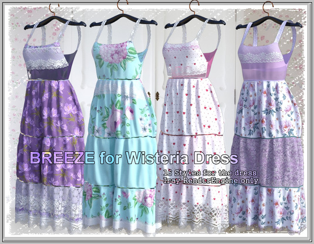 Breeze- for dforce only Wisteria Dress