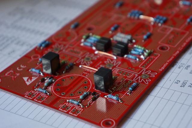 Bigbottle Hybrid MC Phonostage PCB | AudioAddicts Hi-Fi Forum: It's