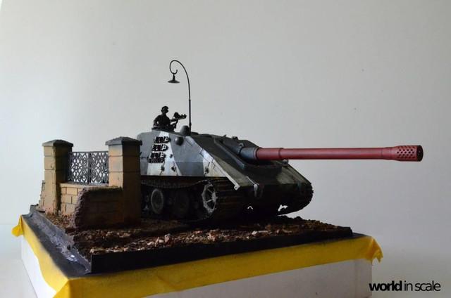 Jagdpanzer E-100 - 1/35 of Trumpeter 29662585_1016206495213532_4106107743316497768_o