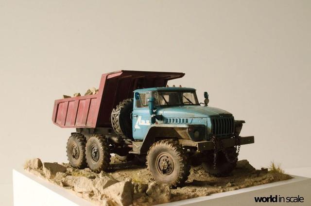 "Ural-4320 ""Dumper Truck"" - 1/35 by Trumpeter, Balaton Modell 22553091_960247370809445_9164239579352587014_o"