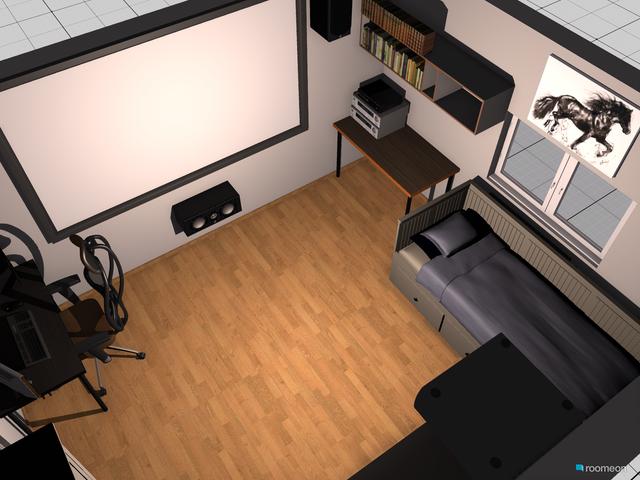 Zimmer mit Beamer 2 0 2