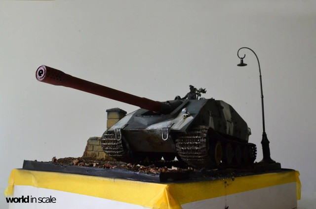 Jagdpanzer E-100 - 1/35 of Trumpeter 28953929_1016206478546867_2648446252371522627_o