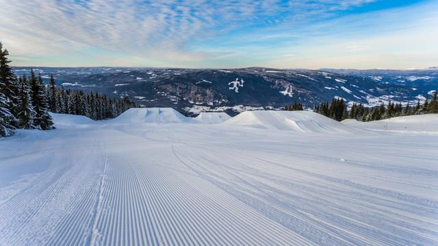 Piste in Skigebied Tirol Mayrhofen