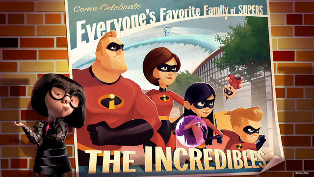 Meet the Incredibles at Walt Disney World