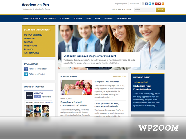 Academica Pro Theme [nulled]