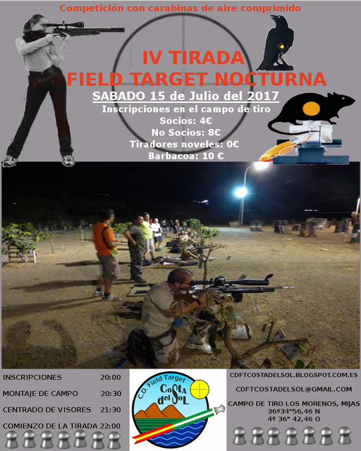 CARTEL FT 4 tirada nocturna