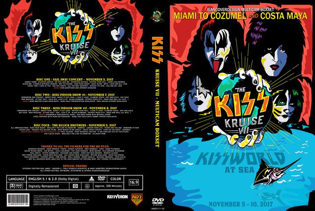 KISS - Kruise VII 2017 Box Set, Jean Cover Edition - Guitars101