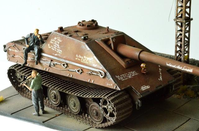 Jagdpanzer E-75 - 1:35 v. Trumpeter, Bolddivision DSC_2807