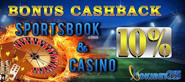 Bonus cashback hokibet365