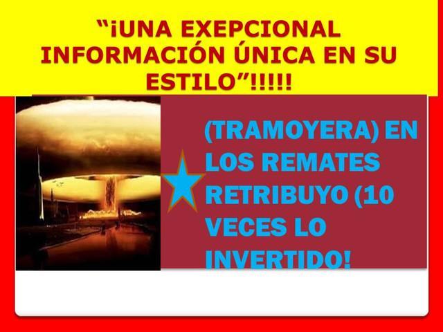 ¡MÁXIMA EFECTIVIDAD!, ¡SÚPER DATOS HÍPICOS!, ¡¡SÚPER INSTINTO HÍPICO ASESINO!! TRAMORERA_1
