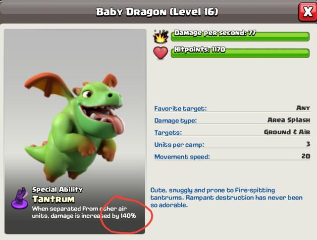 General Baby Dragon Lvl 16 No Change