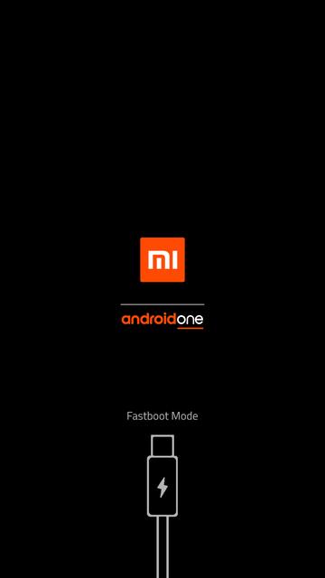 Boot logo Xiaomi Mi A1