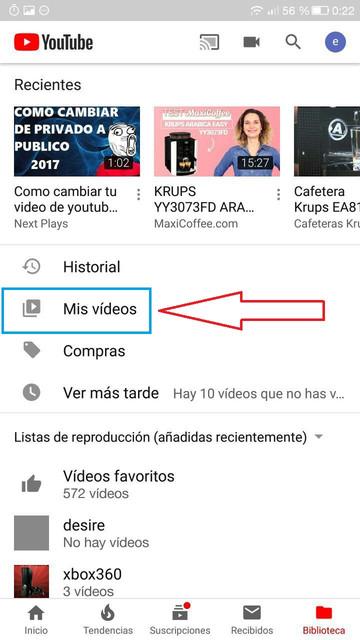 mis videos