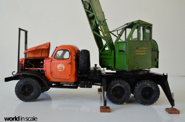 ZIL-157 + Bleichert-Crane - 1:35 by Trumpeter, ... DSC_0821_1024x678
