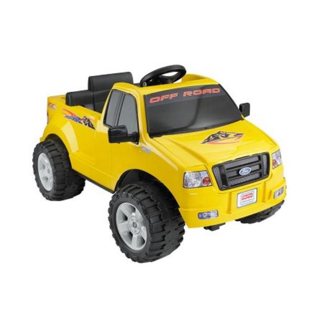 power wheels ford f 150 6 volt battery powered ride on electric toy 6v kids car. Black Bedroom Furniture Sets. Home Design Ideas