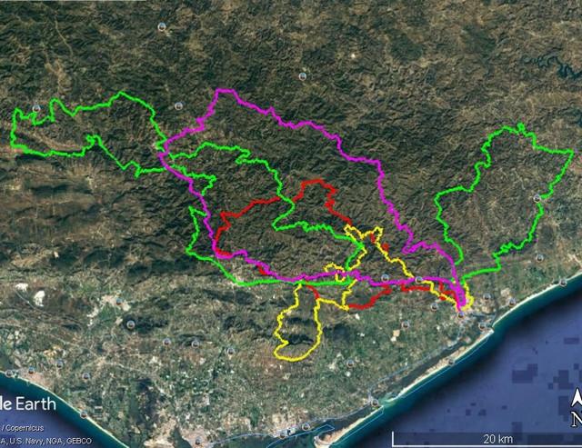 Portugal circular sur 18 P