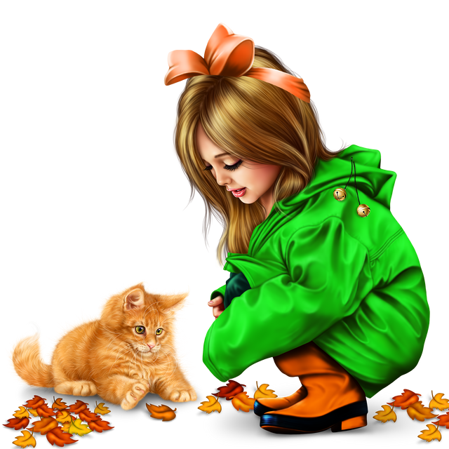 little-girl-in-raincoat-with-a-kitty-png-11d6c6eb395af47b16.png