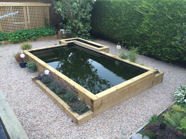 My new build pond 10 000 litres semi raised page 10 for Pond veggie filter