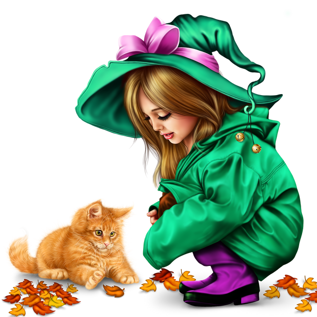 little-girl-in-raincoat-with-a-kitty-png-156442fa82a1a3f05f.png