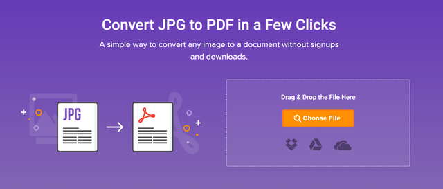 convert jpg images to pdfs online