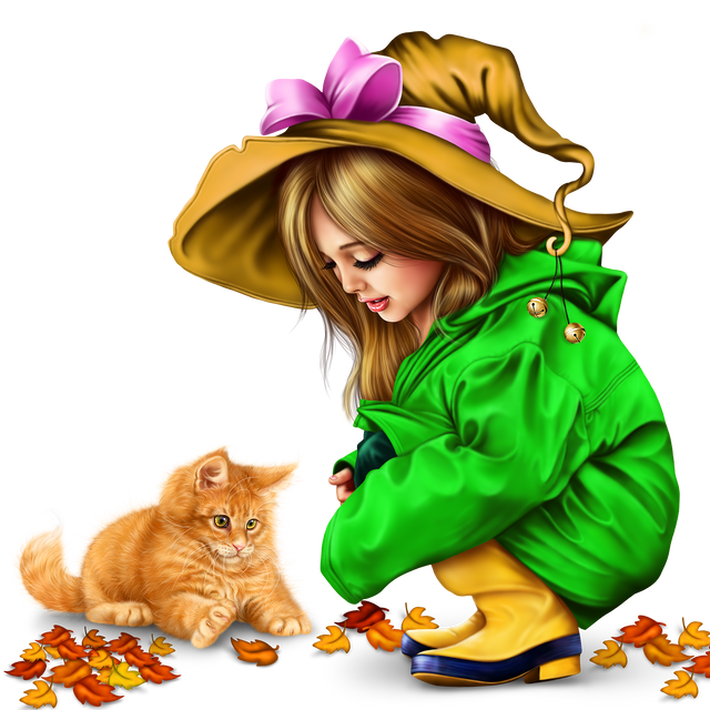 little-girl-in-raincoat-with-a-kitty-png-939fbf0da581be1c9.png