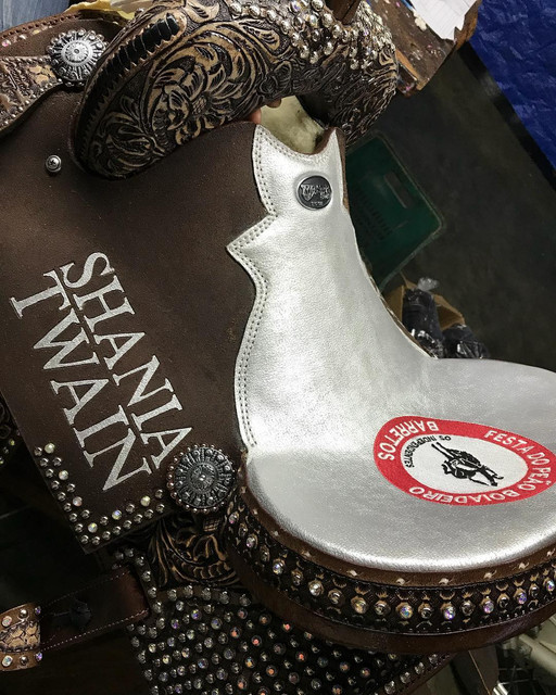 shania nowtour barettos081818 saddle1