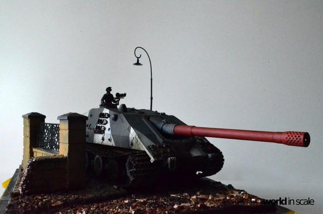 Jagdpanzer E-100 - 1/35 of Trumpeter 28947373_1016206418546873_1875113464164633857_o