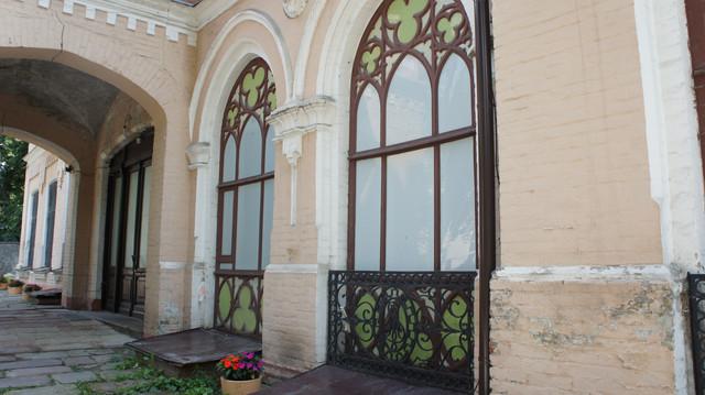 Залишки палацу барона Штейнгеля