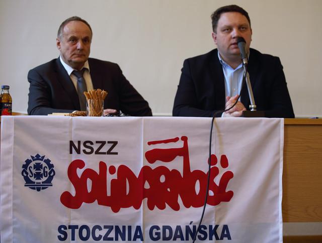 Przewodniczący stoczniowej Solidarności i prezes ARP