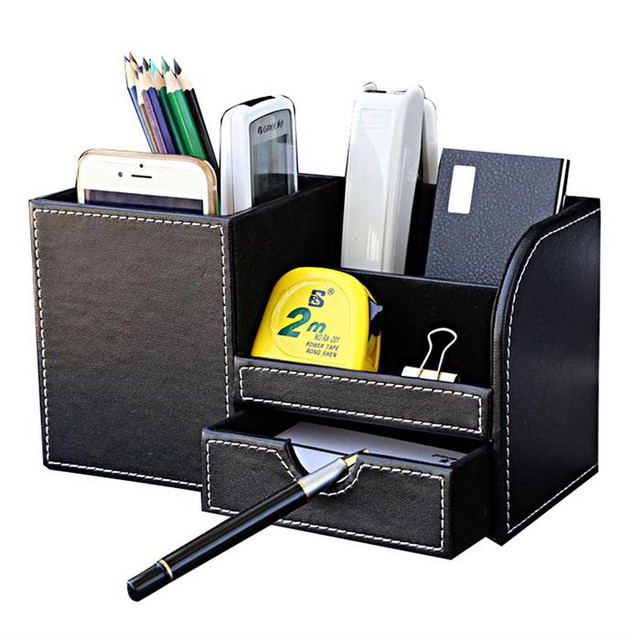 ***Pen Holder Multi Function Desk Stationery Stand Office Organizer  Accessories***