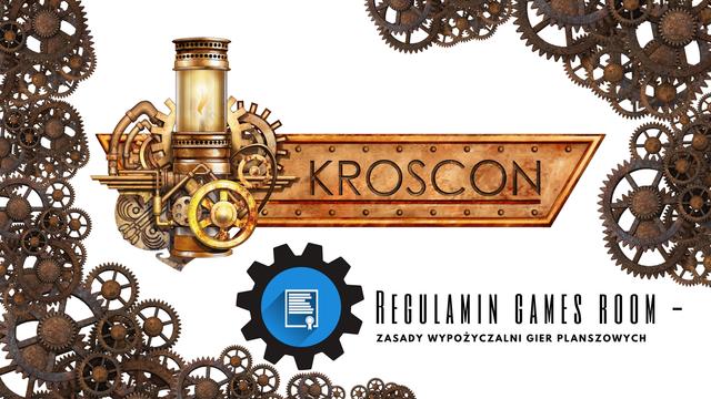 Games room - regulamin z zasadami i instrukcjami wypożyczalni gier planszowych