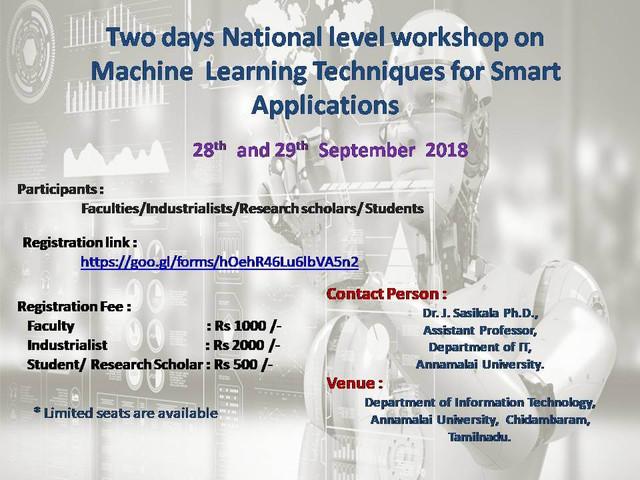 smart application poster
