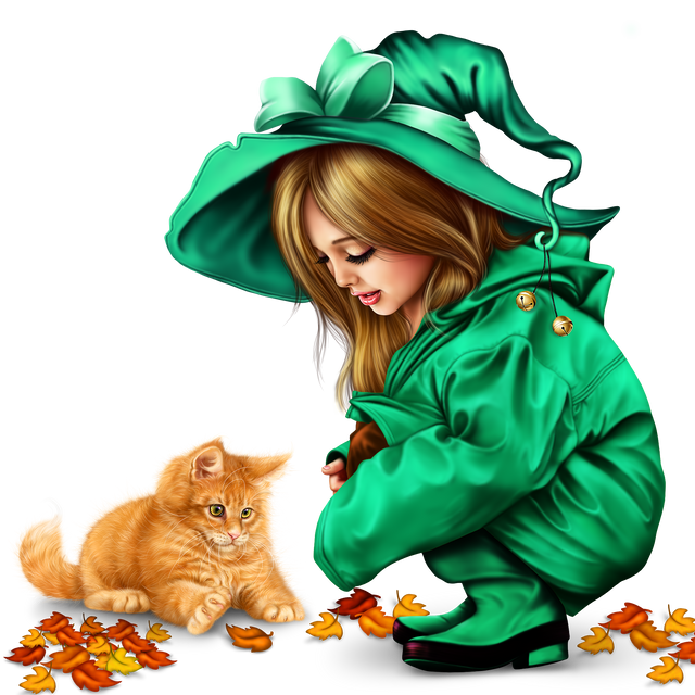 little-girl-in-raincoat-with-a-kitty-png-18f99f9b63c7e94177.png