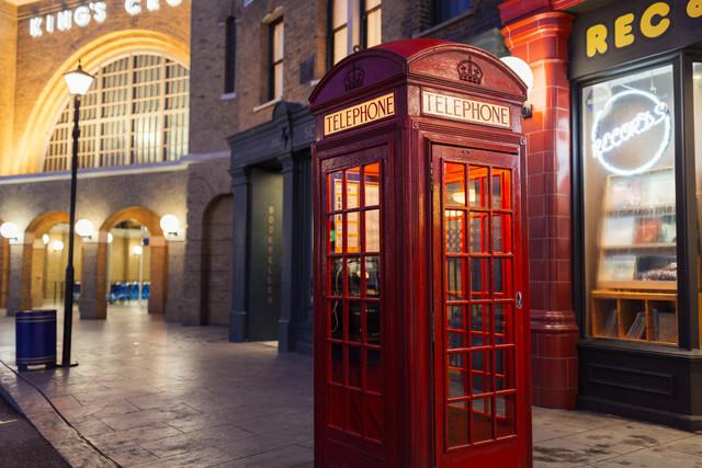 Phone Box Wizarding World of Harry Potter