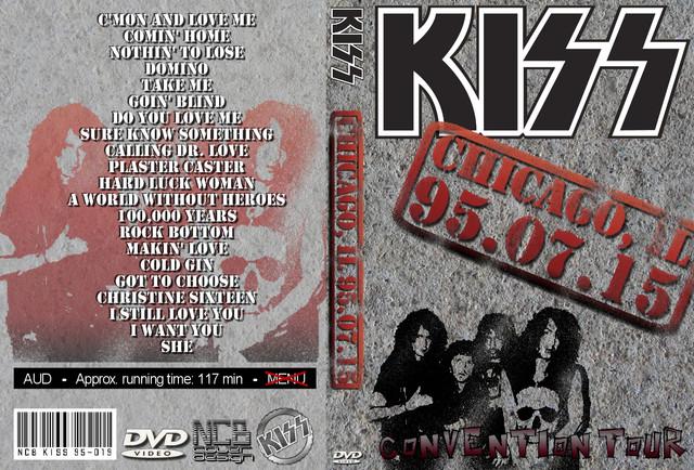 KISS - 1995-07-15 ~ Chicago, IL MrB 1st Generation - Guitars101