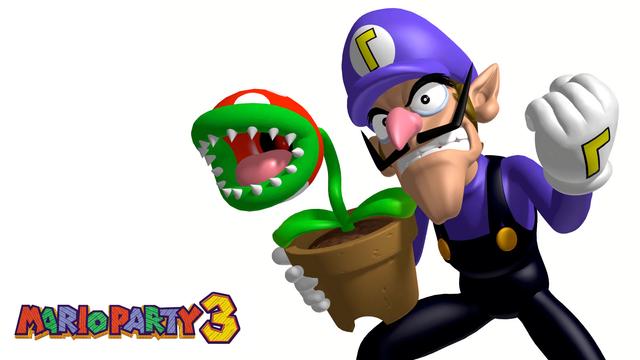 Mario Party 3 Waluigi